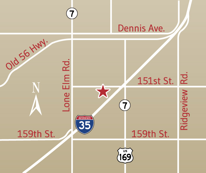 office map-olathe